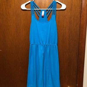 Blue Strappy Dress